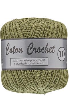 Ly Coton Crochet 10 nr. 382 GrasGroen