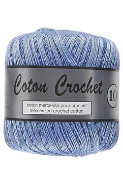 LY Coton Crochet 10 nr. 040 MiddenBlauw