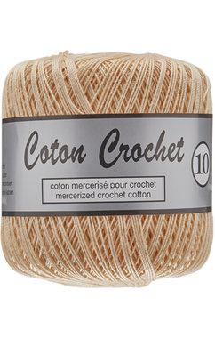 LY Coton Crochet 10 nr. 218 LichtVleeskleur