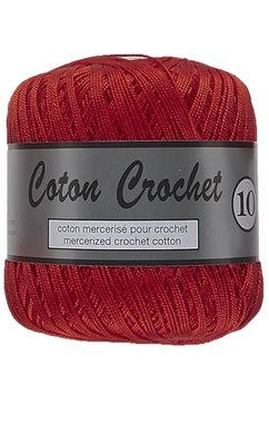 LY Coton Crochet 10 nr. 043 Rood
