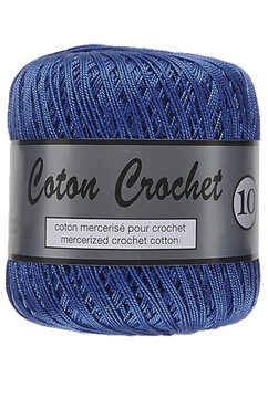 LY Coton Crochet 10 nr. 022 Blauw