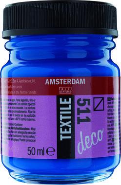Amsterdam Deco Textiel 50 ml Flacon 511 Kobaltblauw