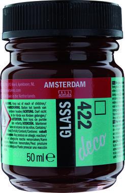 Amsterdam Deco Glass 50 ml Flacon 422 Roodbruin