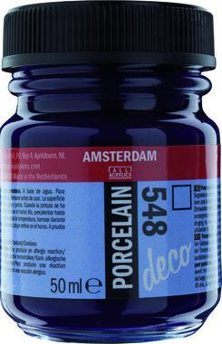 Amsterdam Deco Porcelain 50  ml Flacon 548 Blauwviolet