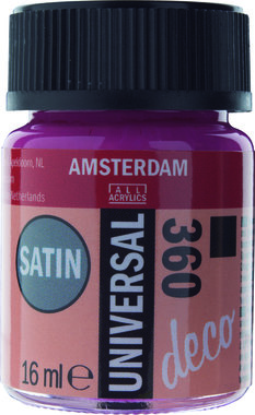 Amsterdam Deco Universal Satin 16 ml Flacon 360 Oriëntaalrood
