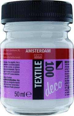 Amsterdam Deco Textiel 50 ml Flacon 100 Wit