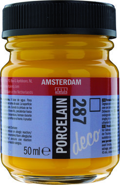 Amsterdam Deco Porcelain 50  ml Flacon 287 Heldergeel