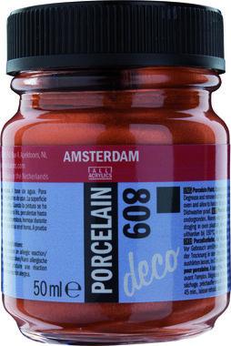 Amsterdam Deco Porcelain 50  ml Flacon 809 Koper dekkend