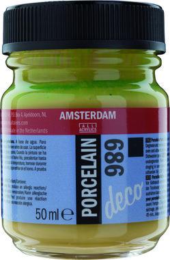 Amsterdam Deco Porcelain 50  ml Flacon 686 Olijfgroen dekkend