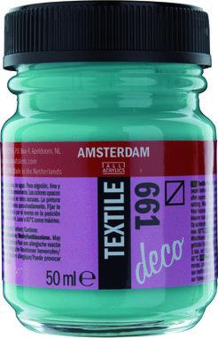 Amsterdam Deco Textiel 50 ml Flacon 661 Turkoois