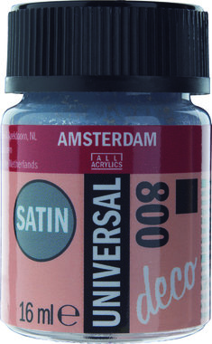 Amsterdam Deco Universal Satin 16 ml Flacon 800 Zilver