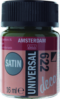 Amsterdam Deco Universal Satin 16 ml Flacon 622 Donker Olijfgroen