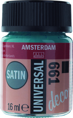 Amsterdam Deco Universal Satin 16 ml Flacon 661 Turkoois