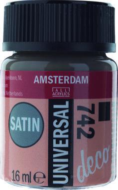Amsterdam Deco Universal Satin 16 ml Flacon 742 Steengrijs