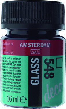 Amsterdam Deco Glass 16 ml Flacon 548 Blauwviolet