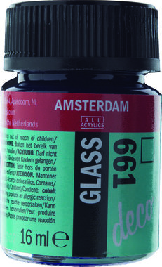 Amsterdam Deco Glass 16 ml Flacon 661 Turkoois