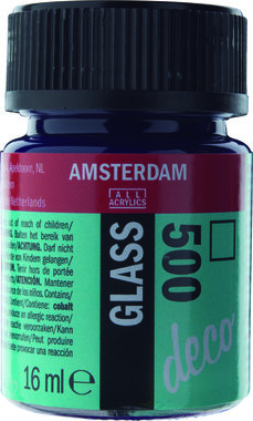 Amsterdam Deco Glass 16 ml Flacon 500 Blauw