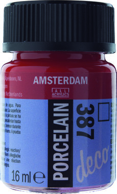 Amsterdam Deco Porcelain 16 ml Flacon 387 Helderrood