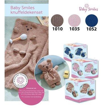 Schachenmayr  Baby Smiles Knuffeldekenset 1052 Jeans