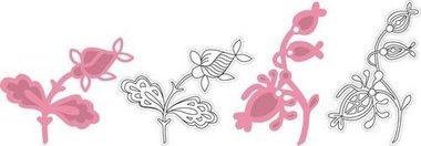 Marianne Design Collectable COL1305 Twee bloemen