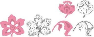 Marianne Design Collectable COL1303 Bloemen en blad