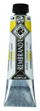 Rembrandt Acrylverf tube 40 ml nr. 208 Cadmiumgeel licht