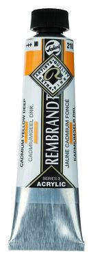 Rembrandt Acrylverf tube 40 ml nr. 210 Cadmiumgeel donker