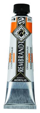 Rembrandt Acrylverf tube 40 ml nr. 211 Cadmiumoranje