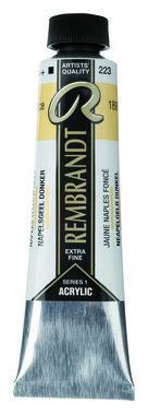 Rembrandt Acrylverf tube 40 ml nr. 223 Napelsgeel donker