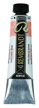 Rembrandt Acrylverf tube 40 ml nr. 224 Napelsgeel rood
