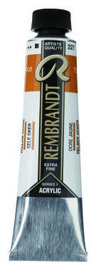 Rembrandt Acrylverf tube 40 ml nr. 227 Gele oker