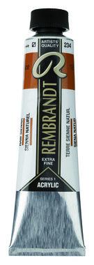 Rembrandt Acrylverf tube 40 ml nr. 234 Sienna naturel