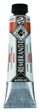 Rembrandt Acrylverf tube 40 ml nr. 265 Transparantoxydgeel