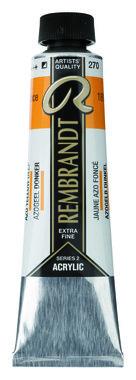 Rembrandt Acrylverf tube 40 ml nr. 270 Azogeel donker