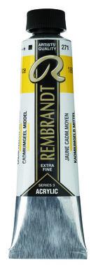 Rembrandt Acrylverf tube 40 ml nr. 271 Cadmiumgeel middel