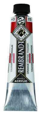 Rembrandt Acrylverf tube 40 ml nr. 273 Transparant oxydoranje