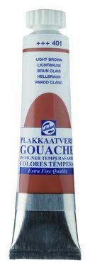 Gouache Plakkaatverf Extra Fijn tube 20 ml 401 Lichtbruin