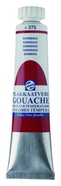 Gouache Plakkaatverf Extra Fijn tube 20 ml 375 Bordeaux