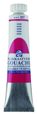 Gouache Plakkaatverf Extra Fijn tube 20 ml 357 Roze