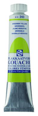 Gouache Plakkaatverf Extra Fijn tube 20 ml 243 Groengeel