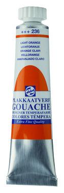 Gouache Plakkaatverf Extra Fijn tube 20 ml 236 Lichtoranje