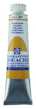 Gouache Plakkaatverf Extra Fijn tube 20 ml 227 Gele oker