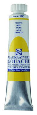 Gouache Plakkaatverf Extra Fijn tube 20 ml 200 Geel