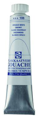 Gouache Plakkaatverf Extra Fijn tube 20 ml 106 Dekwit