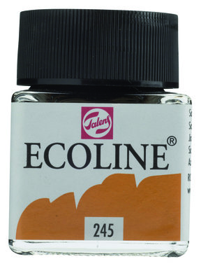 Ecoline Vloeibare waterverf flacon 30ml 245 Saffraangeel