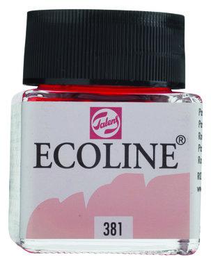 Ecoline Vloeibare waterverf flacon 30ml 381 Pastelrood