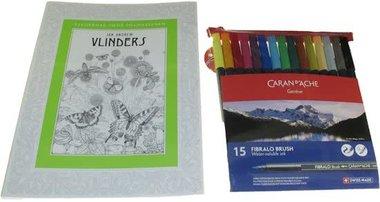 Kleurboek Vlinders Pakket