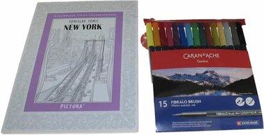Kleurboek New York Pakket