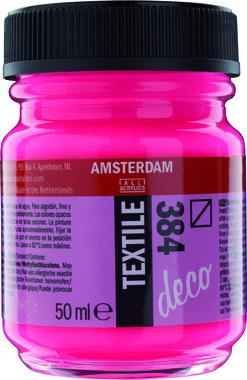 Amsterdam Deco Textiel 50 ml Flacon 384 Reflexroze