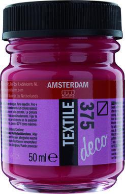 Amsterdam Deco Textiel 50 ml Flacon 375 Bordeaux